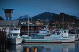 Harbor at Dusk  Morro Bay  California  USA