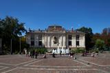 Palac Sztuki - the Palace of Art in Plac Szczepanski  Krakow  Poland