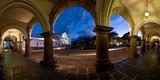 Palace at Dusk  Palacio De Los Capitanes Generale  Antigua Guatemala  Guatemala