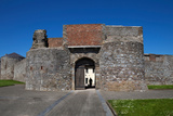 Entrance Gate  King John's Castle  Dungarvan  County Waterford  Ireland