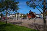 "The Quincentennial ""Sails"" Sculpture  Eyre Square  Galway City  Ireland"