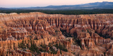 High Angle View of Rock Formations  Bryce Canyon  Bryce Canyon National Park  Utah  USA
