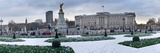 Buckingham Palace in Winter  City of Westminster  London  England