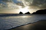 Sunset on Ballydowane Beach  Bunmahon  County Waterford  Ireland