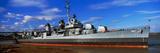 Uss Kidd Navy Ship at a Memorial  Uss Kidd and Veterans Memorial  Baton Rouge  Louisiana  USA