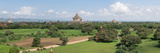 Northern and Eastern View of Stupas and Temples from Top of Shwe San Taw Temple
