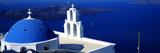 Church on an Island  Agios Theodoros  Firostefani  Santorini  Cyclades Islands  Greece