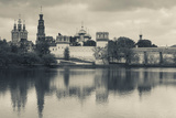 Novodevichy Monastery at Late Afternoon  Khamovniki-Area  Moscow  Russia