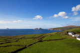 Puffin Island from the Skelligs Ring Road Near Killonecaha  Ring of Kerry  County Kerry  Ireland