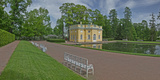 Palace Grounds  Catherine Palace  Tsarskoye Selo  St Petersburg  Russia