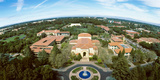 Aerial View of Stanford University  Stanford  California  USA