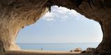 Cave on the Cala Luna Beach  Cala Gonone  Nuoro  Sardinia  Italy