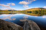 Spring Afternoon on Upper Sargent Pond  Adirondack Park  New York State  USA