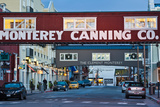 Cannery Row Area at Dawn  Monterey  California  USA