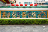 Dragon Frieze Outside a Building  Singapore Chinese Chamber of Commerce and Industry  Singapore