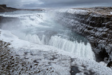 Gullfoss Waterfall  (Golden Falls)  Iceland