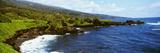 Coastline  Oahu  Hawaii  USA