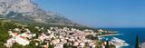 City at Coast  Baska Voda  Biokovo  Split-Dalmatia County  Croatia
