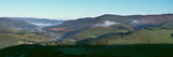 Morning Mist in Tweed Valley  Scottish Borders  Scotland