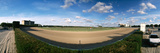 360 Degree View of Horse Racing Track  Calder Race Course  Miami Gardens  Florida  USA