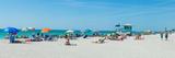 People on the Beach  Venice Beach  Gulf of Mexico  Venice  Florida  USA