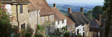 Houses Along Gold Hill  Shaftesbury  Dorset  England
