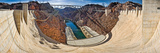 Hoover Dam  Lake Mead  Arizona-Nevada Border  USA