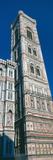 Low Angle View of a Campanile  Campanile Di Giotto  Duomo Santa Maria Del Fiore  Florence