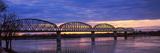 Bridge across a River  Big Four Bridge  Louisville  Kentucky  USA