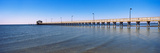 Pier in the Sea  Biloxi  Mississippi  USA