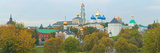 Monastery and Cathedral in a City  Trinity Lavra of St Sergius  Sergiyev Posad  Moscow  Russia