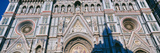 Low Angle View of a Cathedral  Duomo Santa Maria Del Fiore  Piazza Del Duomo  Florence  Tuscany