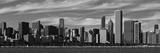 City Skyline at the Waterfront  Chicago  Cook County  Illinois  USA