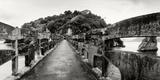 Stone Bridge Leading to a Small Island  Niteroi  Rio De Janeiro  Brazil