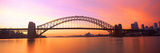 Sydney Harbor Bridge  Sydney  New South Wales  Australia