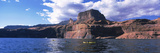 Kayaks in a Lake  Lake Powell  Page  Arizona  USA