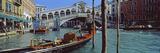 Rialto Bridge over the Grand Canal  Venice  Veneto  Italy
