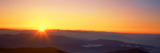 Sunrise over Mountain Range  Clingmans Dome  Great Smoky Mountains  Great Smoky Mountains Nation
