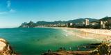 Tourists on the Beach  Ipanema Beach  Rio De Janeiro  Brazil