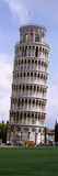 Low Angle View of a Tower  Leaning Tower of Pisa  Piazza Dei Miracoli  Pisa  Tuscany  Italy