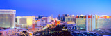City at Dusk  Las Vegas  Clark County  Nevada  USA