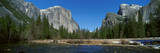 El Capitan Mountain and the Merced River  Yosemite National Park  California