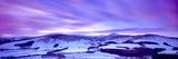 Snow Covered Landscape  Drumelzier  Tweeddale  Scottish Borders  Scotland