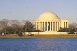 Jefferson Memorial from Offshore