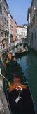 Gondolas in a Canal  Venice  Veneto  Italy