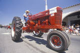 Tractor at Independence Day Parade in Ojai  CA
