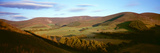 Manor Valley from Cademuir Hill at Late Summer Evening  Scottish Borders  Scotland