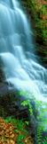 Water Falling from Rocks  Aberfeldy  Perthshire  Scotland