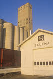 Grain Silos in Salina  KS