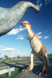 Life Sized Dinosaurs for Roadside Attraction in West Virginia